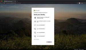 MFA Choose Alternative Method Microsoft 365